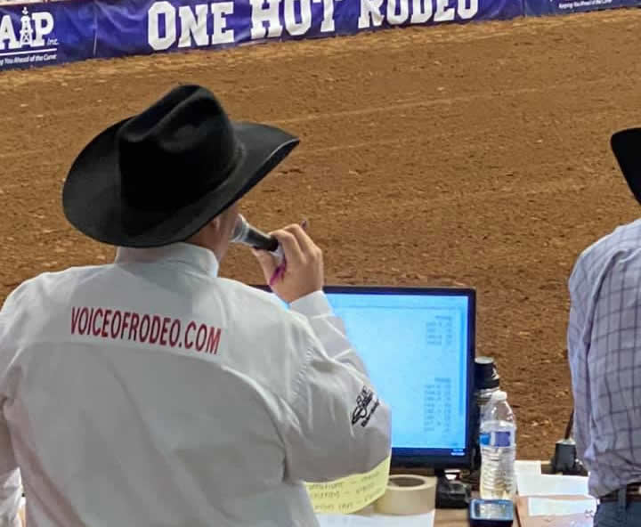 Rodeo Announcer TC Long